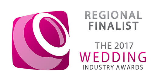 Regional Finalist - The 2017 wedding industry awards